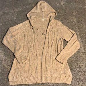 Maurice's hooded cardigan